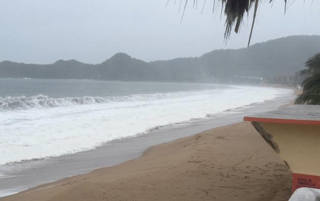 Advierten sobre mar de fondo desde Chiapas hasta Sinaloa y Baja California Sur