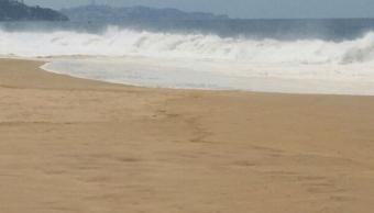 Mar de fondo y vaguada en Chiapas afectan navegación