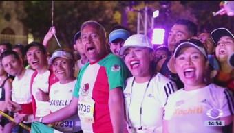 Maratón De La Cdmx Celebra Aniversario Juegos Olímpicos Festejaron Los 50 Años Juegos Olímpicos En Nuestro País