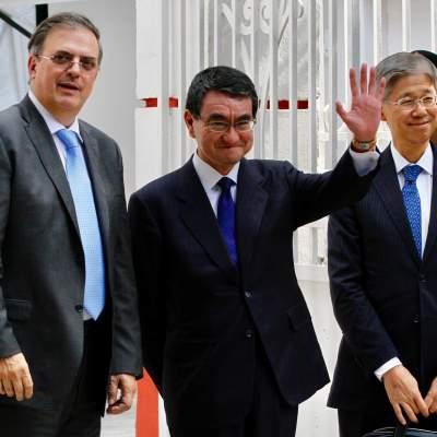 AMLO analiza fortalecer el intercambio comercial con Japón