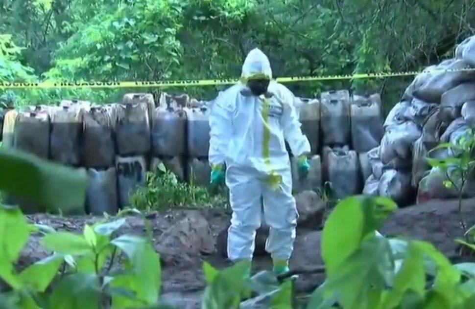 Golpe al narco en Sinaloa: Incautan 50 toneladas de crystal