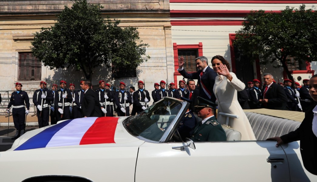 Peña Nieto felicita a Mario Abdo, nuevo presidente de Paraguay