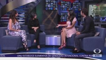 Mayté Perroni e Iván Sánchez en Al Aire con Paola Rojas