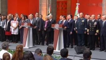 AMLO y EPN inicia proceso de transición presidencial