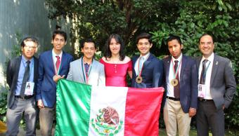 México gana cuatro medallas de bronce en Olimpiada de Física