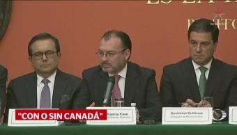 México ya tiene un acuerdo comercial con EU: Videgaray