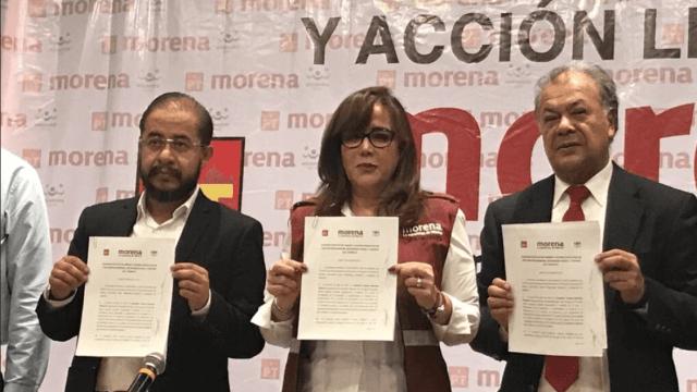 Morena, PT y PES van juntos en alianza legislativa