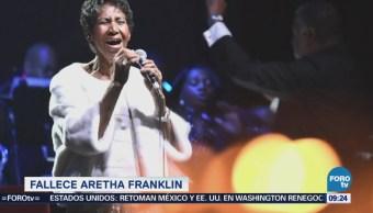 Muere Aretha Franklin La Reina del Soul