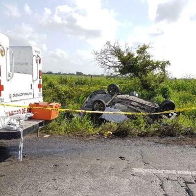 Mueren siete integrantes de una familia en accidente carretero en Tamaulipas
