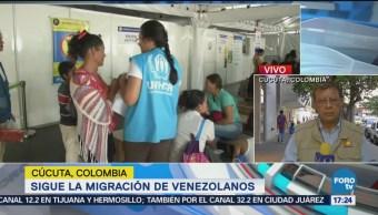 Mujeres venezolanas dan a luz en Colombia