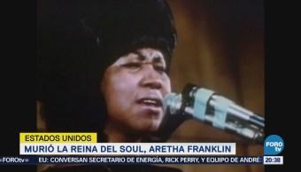 Muere Reina Soul Aretha Franklin DEtroit