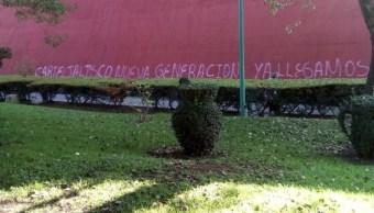 Investigan presunta narcopinta del CJNG en parroquia de Bosques de Las Lomas