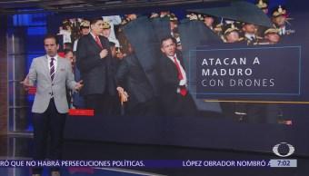 Nicolás Maduro fue objetivo de un ataque con drones