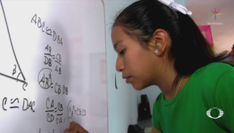 Niña Yucateca Cuarto Lugar Competencia Internacional Matemáticas
