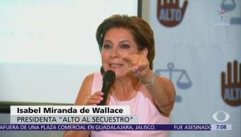 No creo en la pacificación por decreto Isabel Miranda