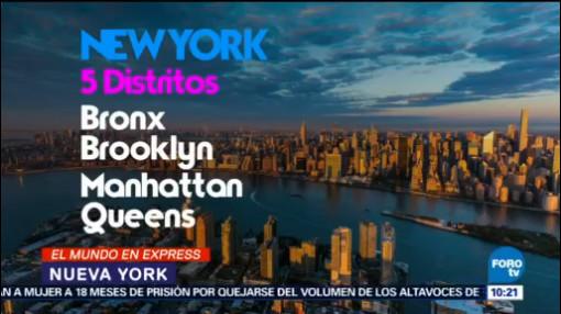 Nueva York 50 Millones De Turistas Al Año Ciudad Estatua De La Libertad Empire Estate