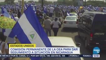 OEA vota resolución para dar seguimiento a crisis en Nicaragua