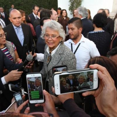 Napoleón Gómez Urrutia, absuelto por la justicia, dice Olga Sánchez Cordero