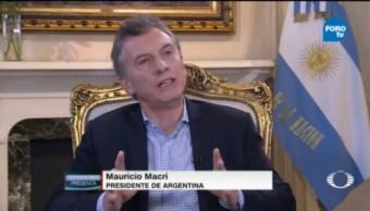 Andrés Oppenheimer Entrevista a Mauricio Macri