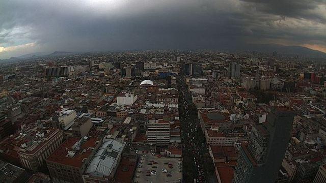 Ciudad de México tendrá tormentas y caída de granizo