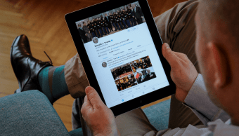 China: Tuits de Trump, mensajes de universo alternativo