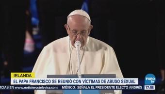 Papa Se Reunió Víctimas Abuso Sexual Irlanda