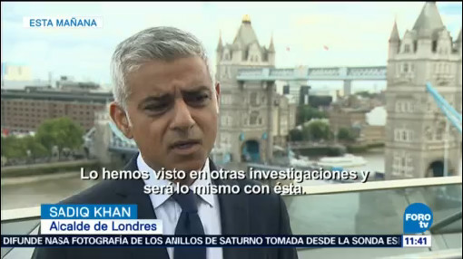 Sadiq Khan Londinenses No Serán Intimidados Ataques Terroristas
