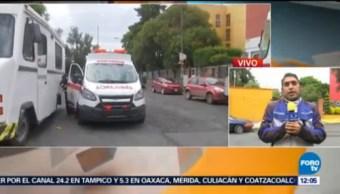Rescatan A Tres Personas Fuga De Gas Coyoacán Colonia Pedregal De Carrasco Delegación Coyoacán