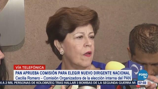 Partido Acción Nacional regresar principios: Cecilia Romero