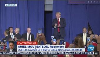 Paul Manafort, Culpable Ocho Cargos Cargos De Fraude Exjefe De Campaña
