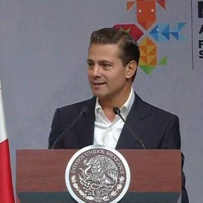 Peña Nieto inaugura la Expo México Alimentaria 'Food Show' 2018