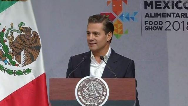 Peña Nieto inaugura Expo México Alimentaria 2018