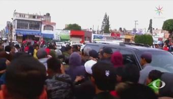 Pobladores Tultepec Enfrentan Policías Operativos Narcomenudeo