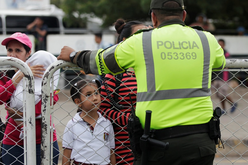 35,000 Venezuelans conduct Colombia's expulsion to Colombia
