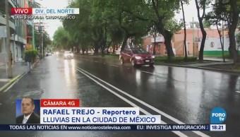 Precipitaciones en Coyoacán no complican la circulación
