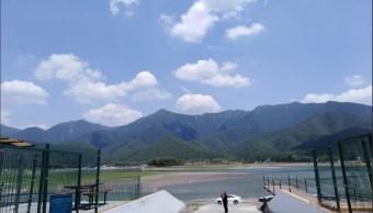 Presa 'La Boca' de Monterrey tiene poca agua y pierde atractivo