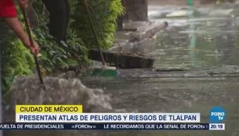 Presentan Atlas Peligros Riesgos Tlalpan CDMX