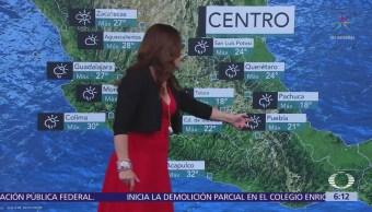 Pronostican tormentas en 20 estados de la República