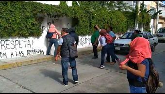 CNTE Guerrero: vandalizan oficinas educativas en Chilpancingo