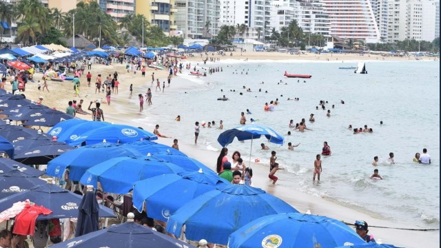 seguridad en el puerto de Acapulco por periodo vacacional