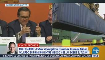 México Toma Opción Pragmática Lograr Acuerdo Comercial Eu