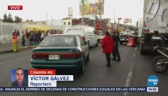Camión Atropella Abuelo Eje 3 Sur, Frente Mercado Jamaica