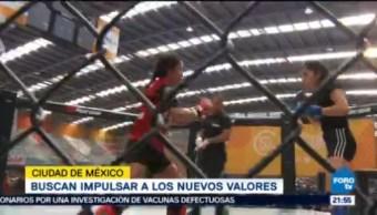Realizan Torneo Artes Marciales Mixtas Cdmx