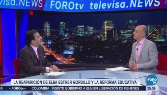 Reaparición de Elba Esther Gordillo y la Reforma Educativa