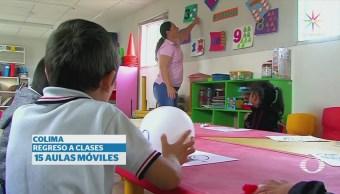 Regresan a clases más de 25 millones de alumnos en México