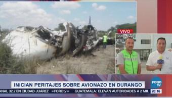 Rescatista Relata Operativo Accidente Aeroméxico Durango