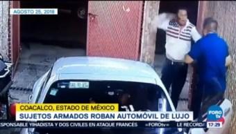 Roban Auto Dentro De Cochera Coacalco Robo De Automóvil Estado De México