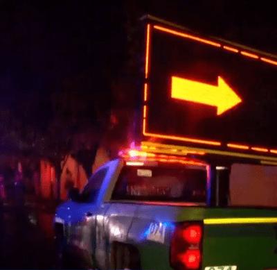 Roban camioneta de Capufe en autopista México Puebla