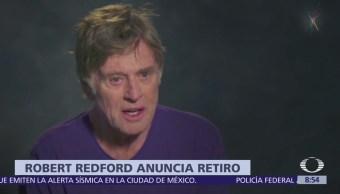 Robert Redford anuncia su retiro como actor