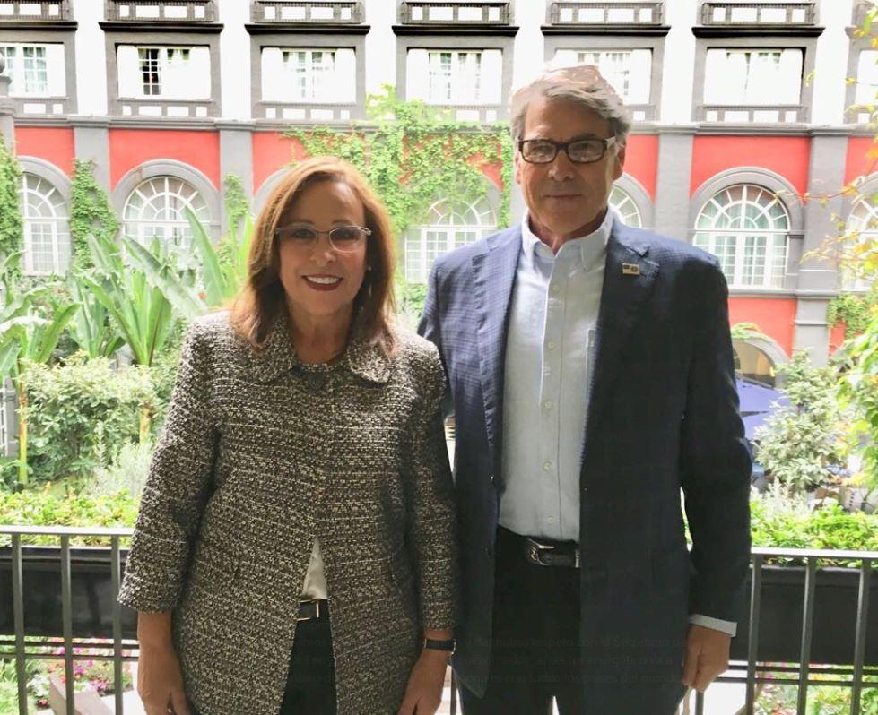 Rocío Nahle recibe visita del Secretario de Energía de Estados Unidos